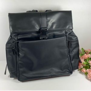 Charles & Keith Black Backpack Bag